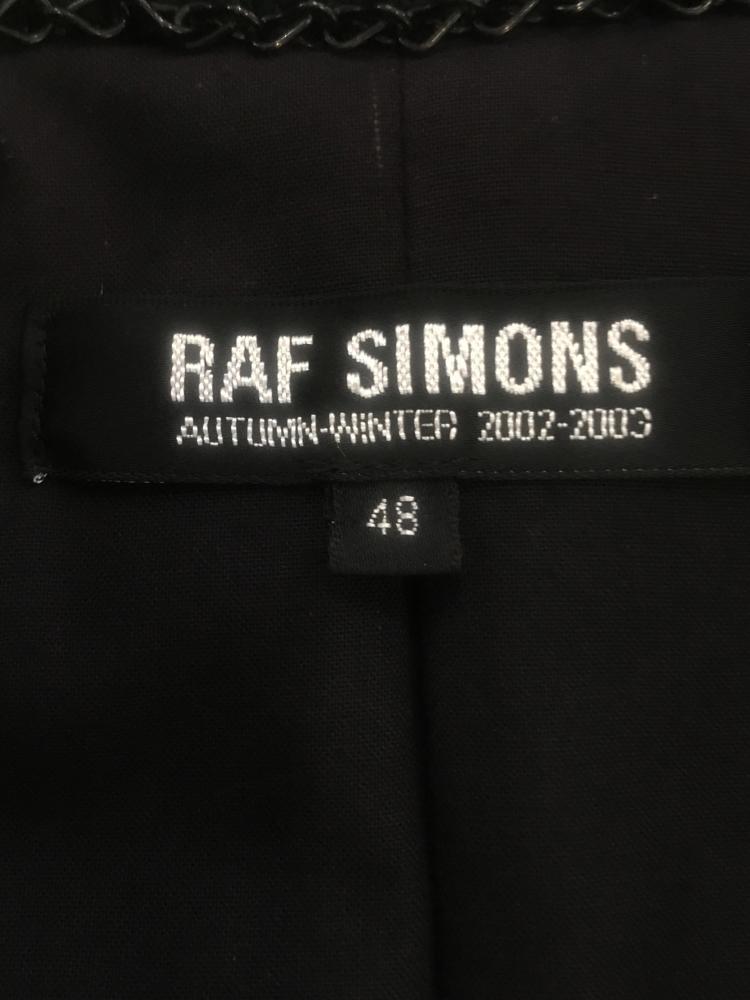 RAF SIMONS 2002-2003 AW