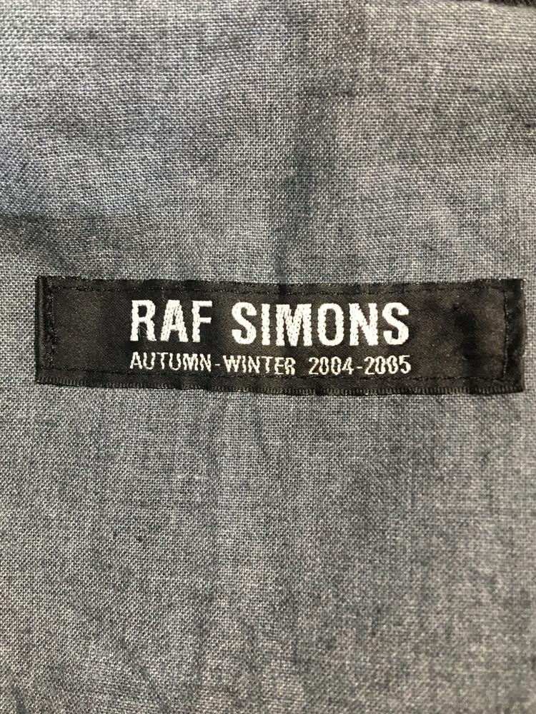 RAF SIMONS</br>2004-05 AW