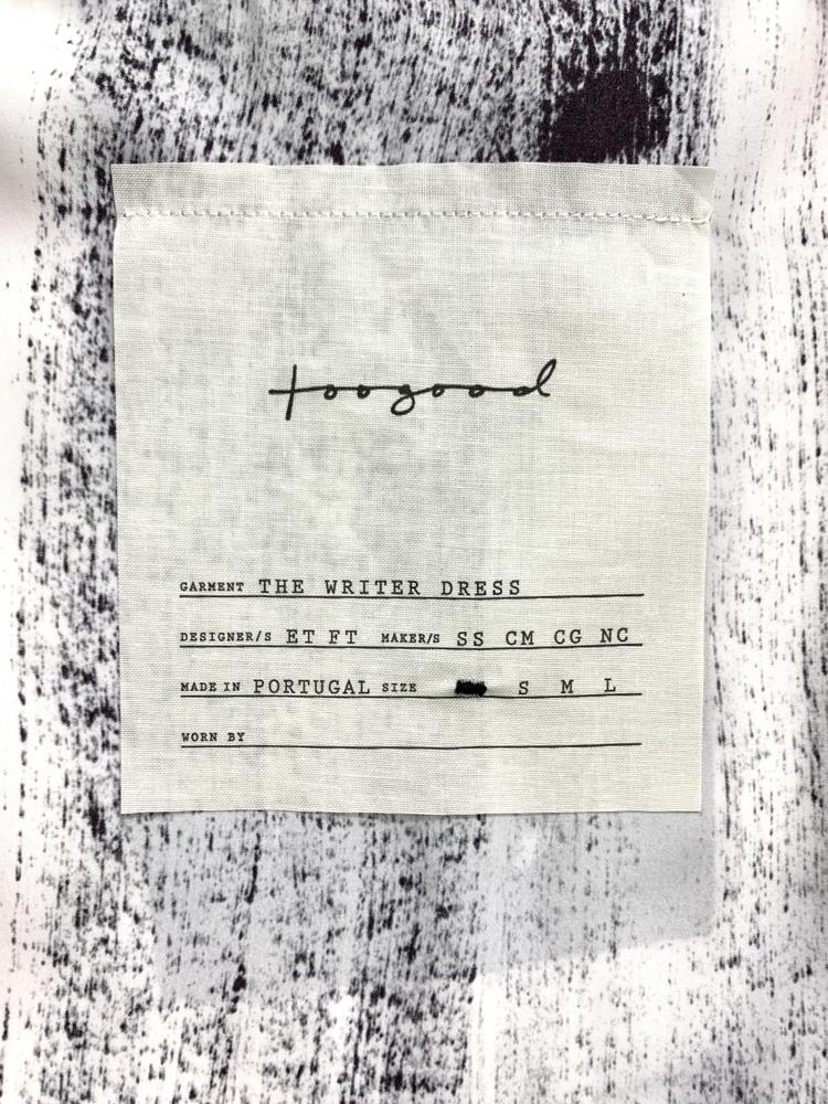 toogood</br>The Writer Dress