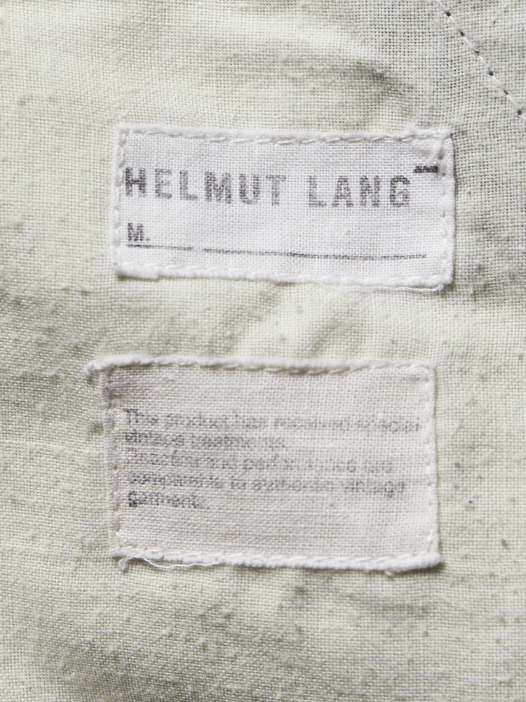 Helmut Lang</br>1999 SS