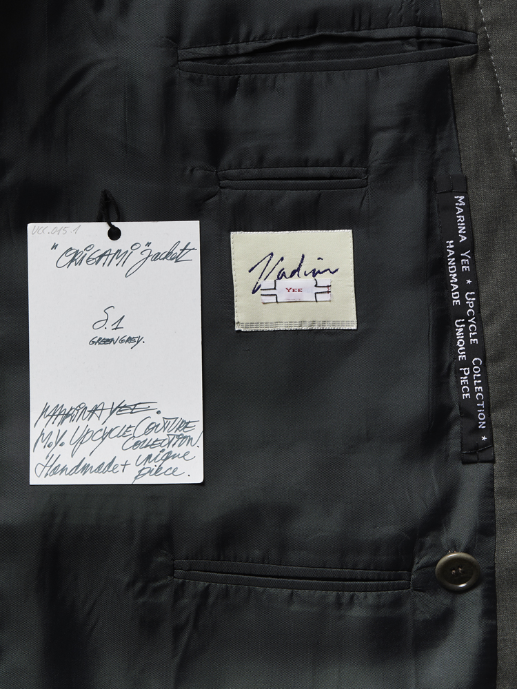 Marina Yee</br>Origami Jacket