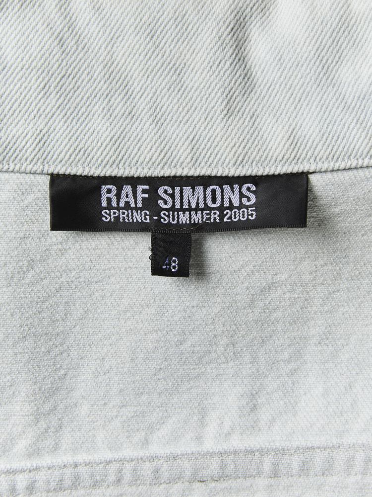 RAF SIMONS</br>2005 SS