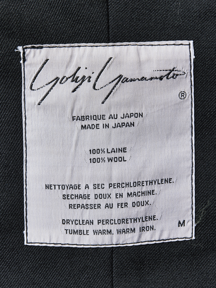 Yohji Yamamoto</br>late 1980