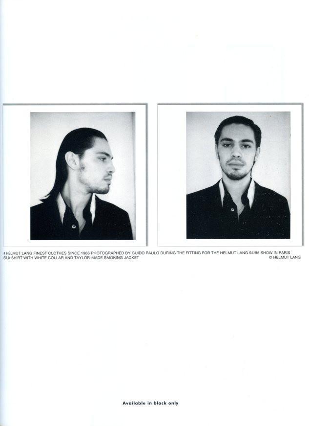 Helmut Lang</br>1996 SS