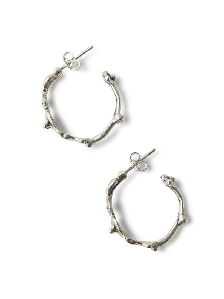 Joanne Burke</br>Dwarf Hoop Earrings