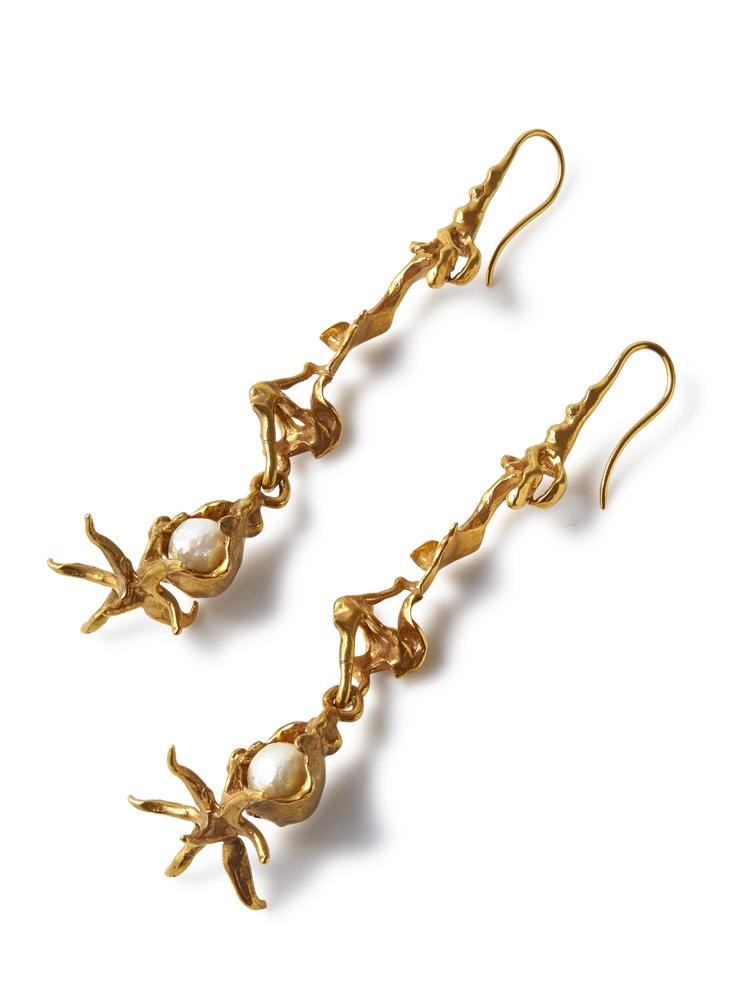 Joanne Burke</br>Anemone Hook Earrings