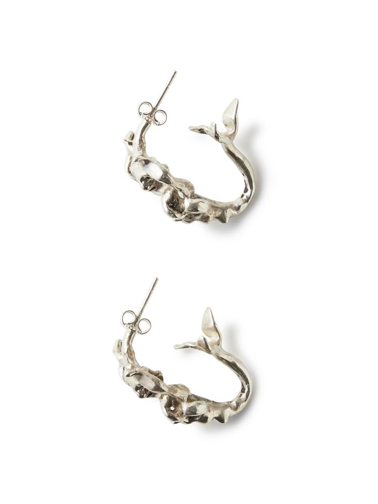 Joanne Burke</br>Undine Hoop Pair Earrings