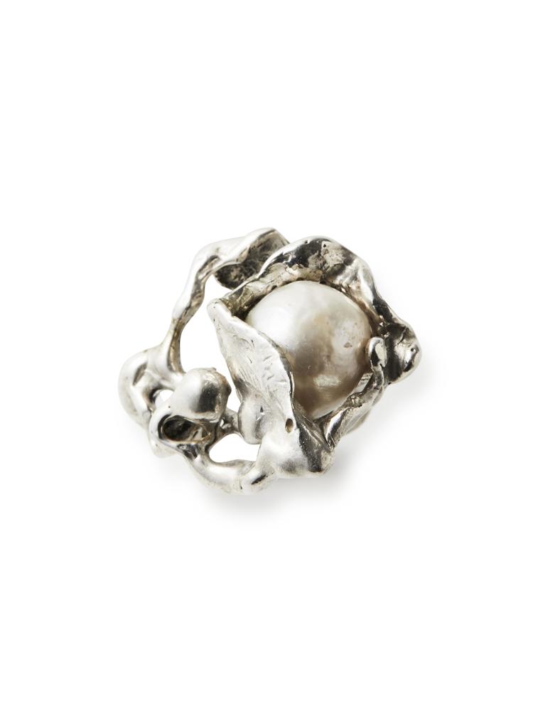 Joanne Burke</br>Lava Pearl Ring #9