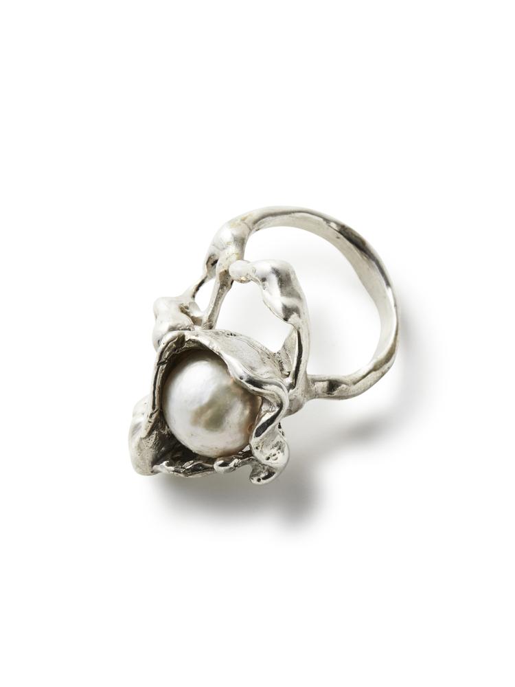 Joanne Burke</br>Lava Pearl Ring #10