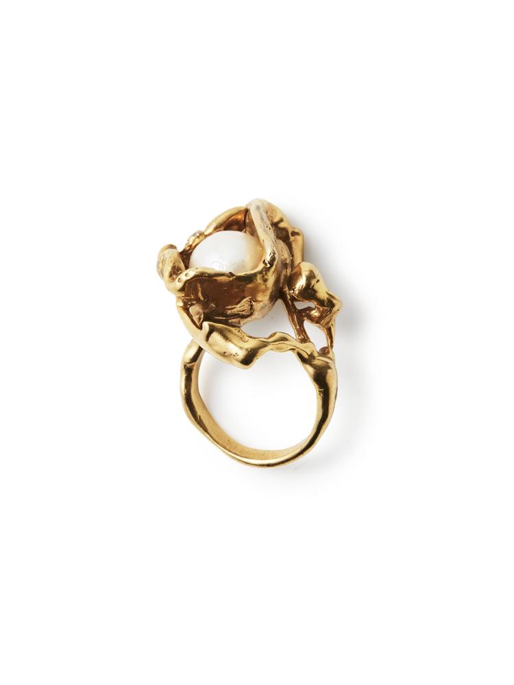 Joanne Burke</br>Lava Pearl Ring #7