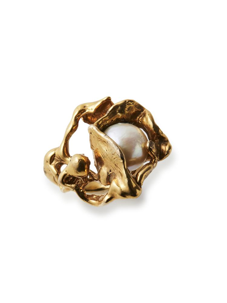 Joanne Burke</br>Lava Pearl Ring #8