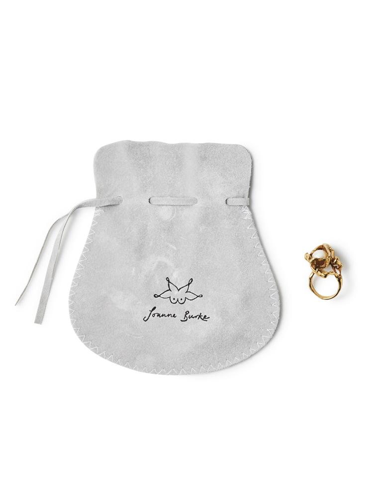 Joanne Burke</br>Lava Pearl Ring #8.5