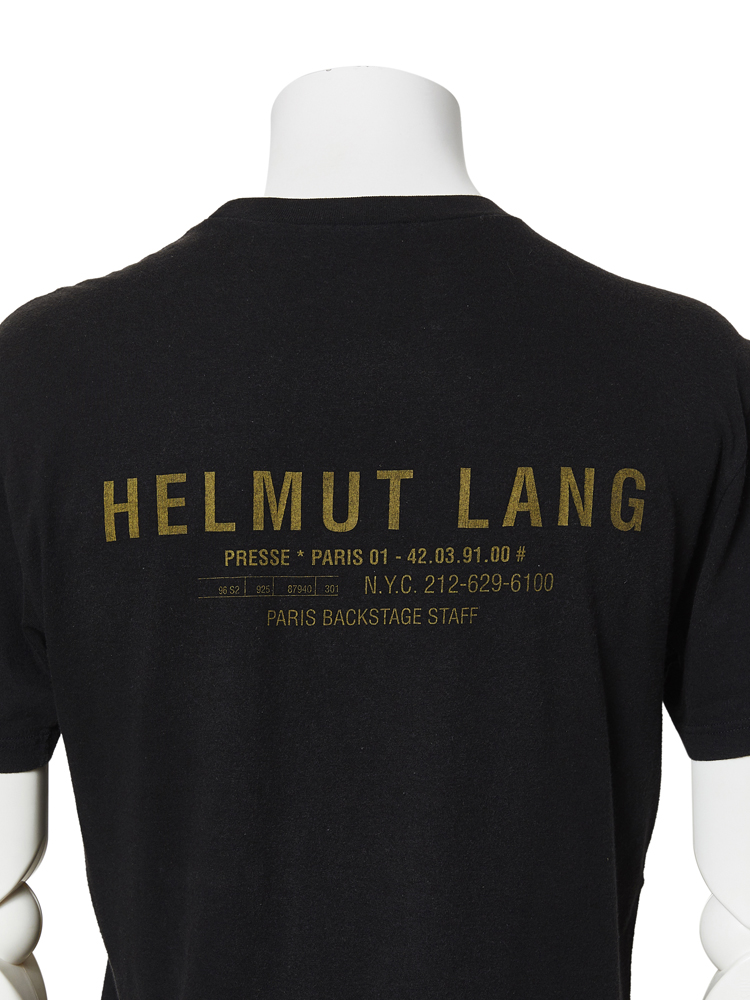 Helmut Lang</br>1997SS BACKSTAGE STAFF