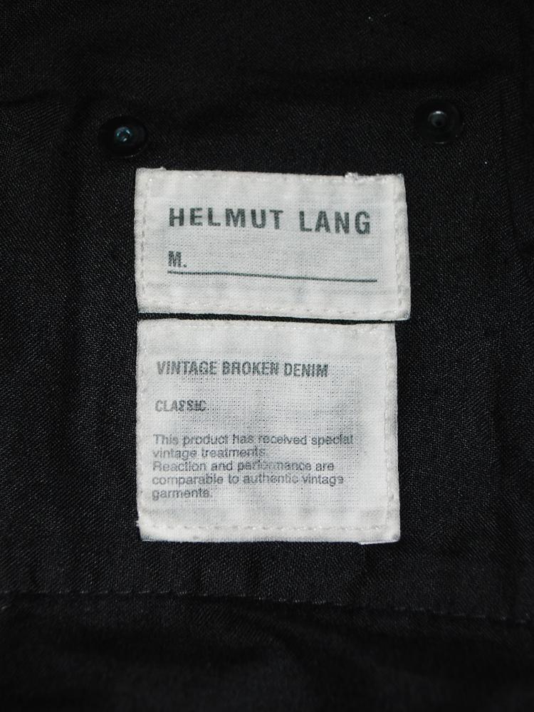 Helmut Lang</br>2001 SS